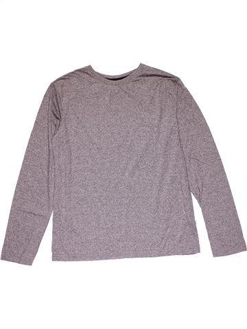 Long sleeve T-shirt unisex PRIMARK gray 13 years winter #20562_1