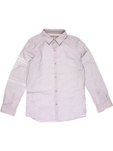 Long sleeve blouse boy ZARA white 12 years winter #20595_1