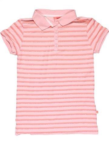 Short sleeve polo shirt girl GIRLS pink 9 years summer #20750_1