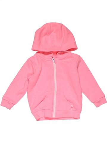 Sweatshirt girl YOUNG DIMENSION pink 18 months winter #20888_1