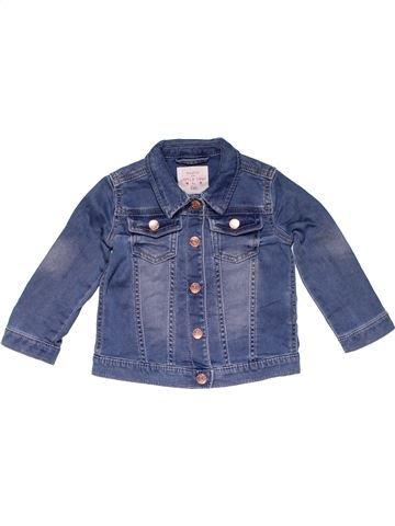 Jacket girl F&F blue 12 months winter #20912_1