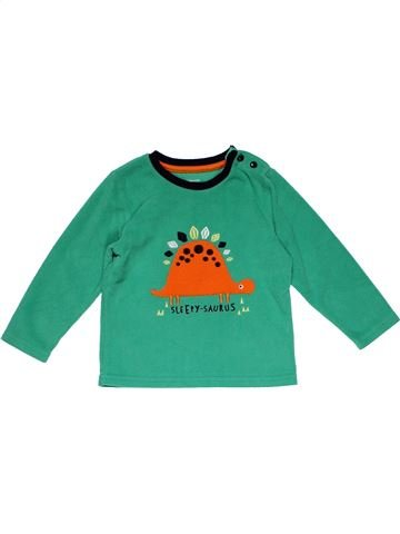 Long sleeve T-shirt boy PRIMARK green 2 years winter #21042_1