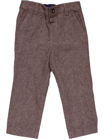 Trouser boy MONSOON brown 3 years winter #21425_1