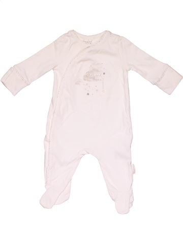 Long jumpsuit girl MOTHERCARE white 1 month winter #21945_1