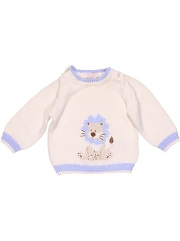 Jumper unisex NO BRAND white 1 month winter #22020_1