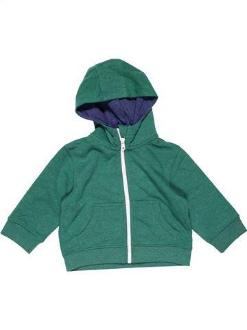 Sweatshirt boy BLUEZOO green 12 months winter #22115_1