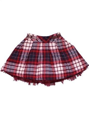 Skirt girl NUTMEG purple 3 years winter #22312_1