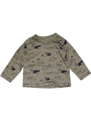 Long sleeve T-shirt boy PRIMARK gray 9 months summer #22432_1