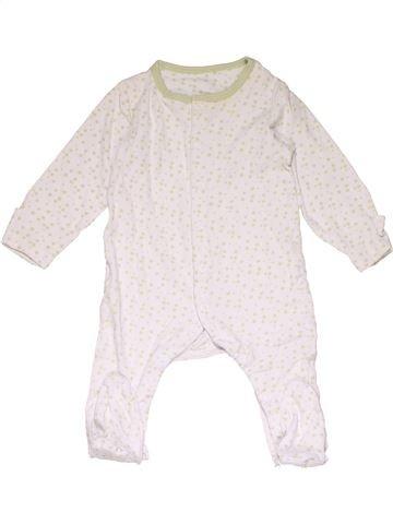 Long jumpsuit unisex MOTHERCARE white 9 months winter #22682_1