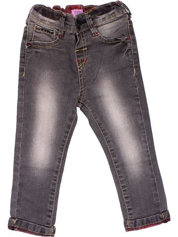 Jeans girl F&F gray 2 years winter #22725_1