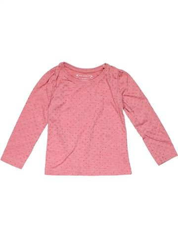 Long sleeve T-shirt girl PRIMARK pink 3 years winter #22966_1