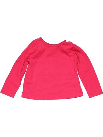 Long sleeve T-shirt girl MOTHERCARE red 12 months winter #23193_1