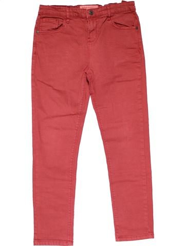 Jeans boy RIVER ISLAND red 11 years summer #23359_1