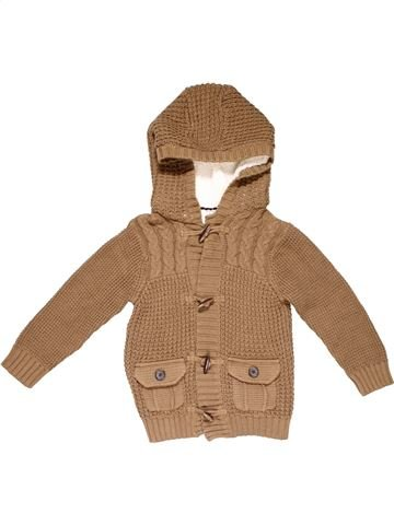 Jumper boy F&F brown 6 years winter #23378_1