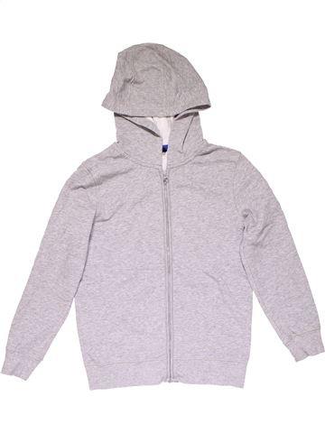 Sweatshirt unisex GEORGE white 11 years winter #23722_1