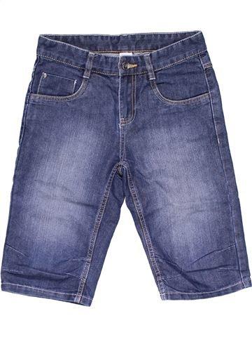 Capri pants boy HERE & THERE blue 11 years summer #24010_1