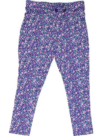Trouser girl MOTHERCARE purple 7 years summer #24045_1
