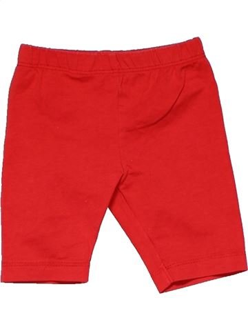 Trouser unisex M&CO red 3 months winter #24048_1