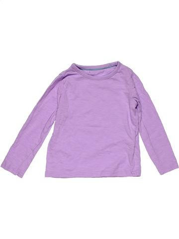 Long sleeve T-shirt girl MARKS & SPENCER pink 3 years winter #24216_1