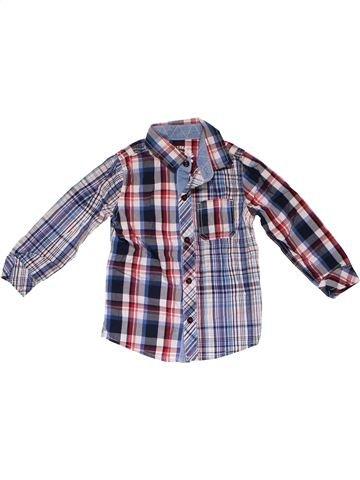 Long sleeve shirt boy MARKS & SPENCER gray 3 years winter #24363_1