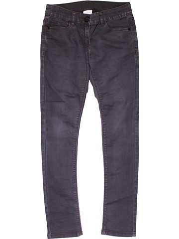 Jeans girl NEXT gray 11 years summer #24705_1