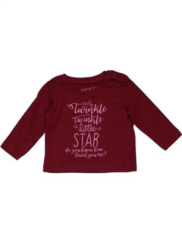 Long sleeve T-shirt girl PRIMARK purple 3 months winter #24846_1