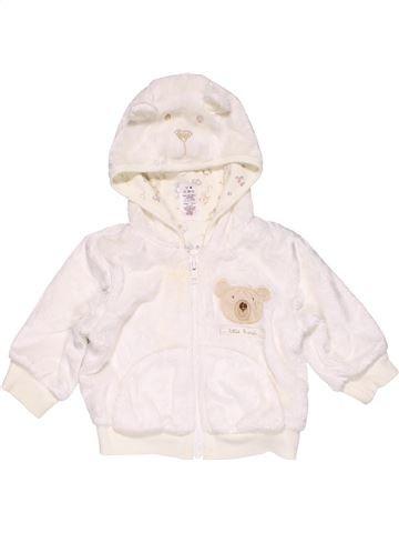 Sweatshirt unisex MINI MODE white 6 months winter #25484_1