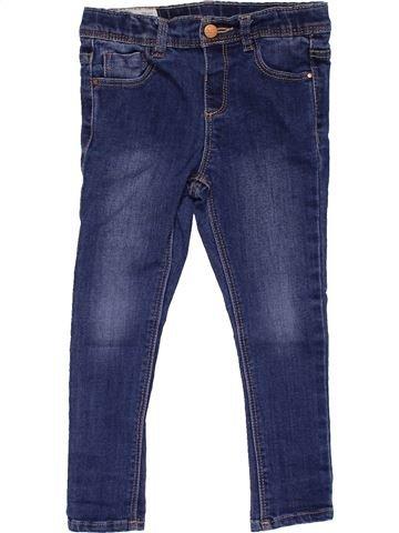 Jeans girl ZARA blue 3 years winter #25566_1
