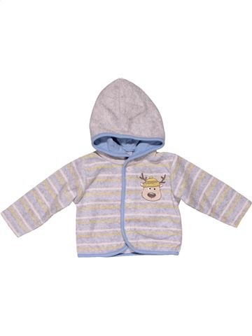 Sweatshirt unisex BABY CLUB white 3 months winter #25719_1