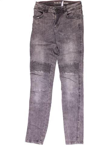 Jeans girl BLUE RIDGE gray 12 years winter #25840_1