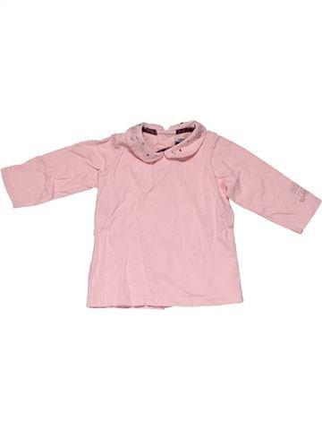 Long sleeve blouse girl SERGENT MAJOR purple 9 months winter #26185_1