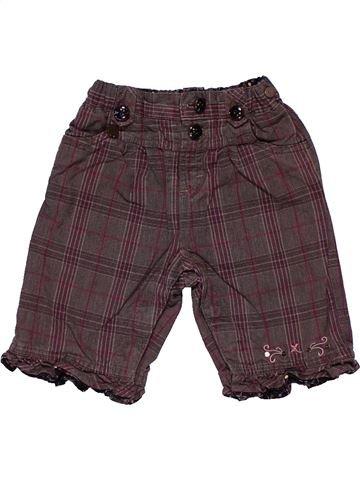 Trouser girl SERGENT MAJOR brown 6 months winter #26242_1