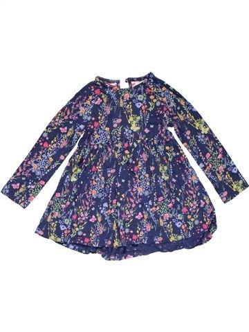 Dress girl NEXT purple 5 years winter #26399_1