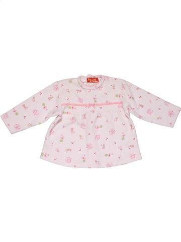 Long sleeve blouse girl RAYDEL pink 12 months winter #26450_1