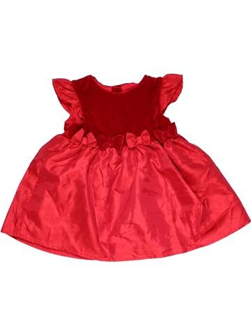 Dress girl EARLY DAYS red 9 months winter #26532_1