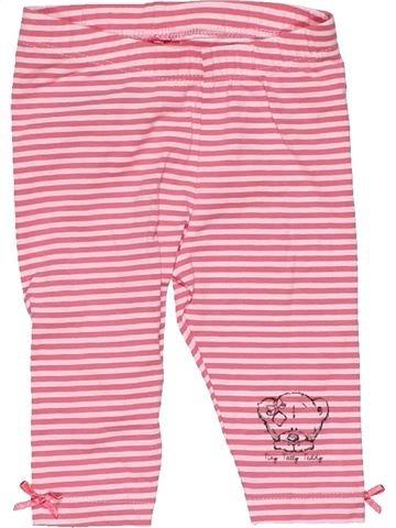 Leggings girl TINY TATTY TEDDY pink 3 months summer #26598_1