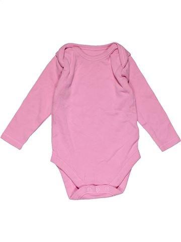 Long jumpsuit girl NUTMEG pink 6 months winter #26748_1