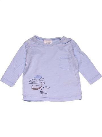 Short sleeve T-shirt girl NEXT gray 1 month summer #26775_1