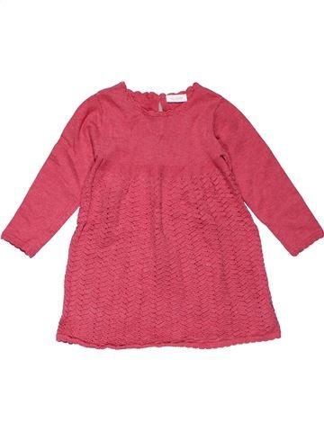 Dress girl NEXT pink 18 months winter #26790_1