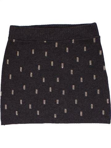 Skirt girl H&M dark blue 4 years winter #26811_1