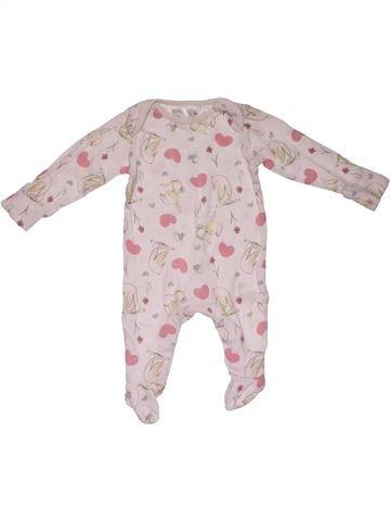 Long jumpsuit girl M&CO pink 3 months winter #26877_1