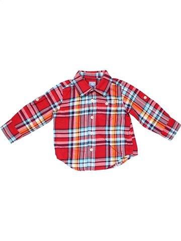 Long sleeve T-shirt boy BABY GAP pink 18 months summer #2687_1