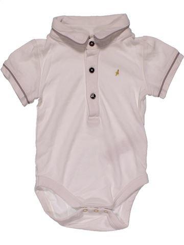 Short jumpsuit boy M&S white 3 months summer #26907_1