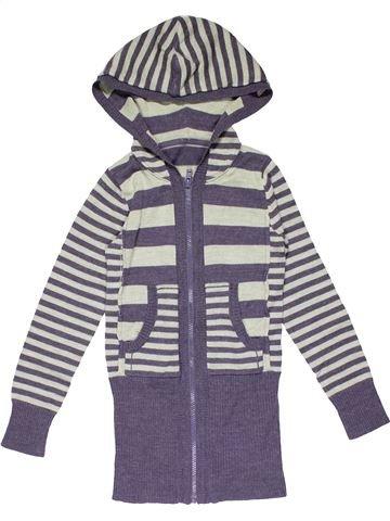 Sweatshirt girl M&S purple 7 years winter #26947_1