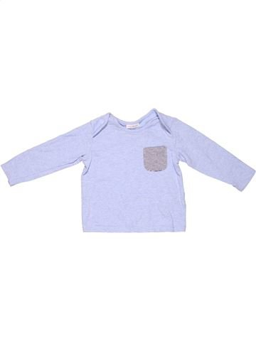Long sleeve T-shirt boy NEXT BABY blue 12 months winter #2718_1