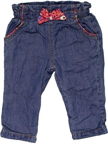 Trouser girl MINI CLUB blue 3 months winter #27237_1