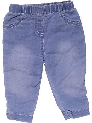 Trouser girl NUTMEG blue 6 months winter #27303_1