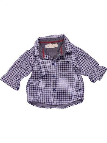 Long sleeve shirt boy H&M blue 6 months winter #27374_1