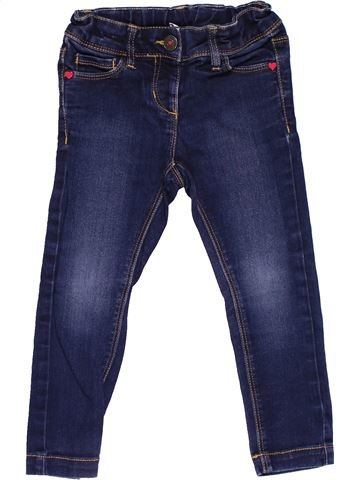 Jeans girl PALOMINO blue 3 years winter #27539_1