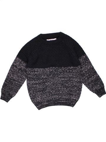 Sweatshirt boy MATALAN black 5 years winter #27566_1